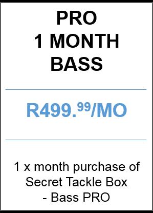 Bass PRO 1 month